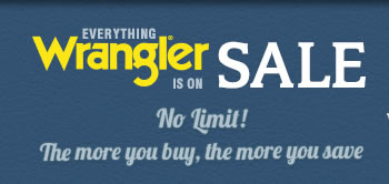 Everything Wrangler on Sale