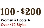 Womens Boots 100 to 200