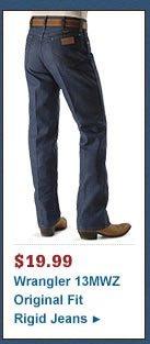 Wrangler Jeans - 13MWZ Original Fit Rigid
