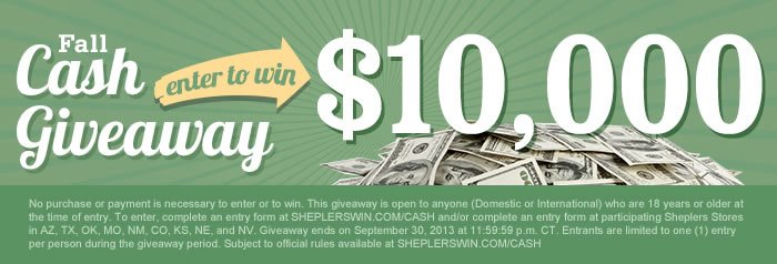 Enter to Win 10K