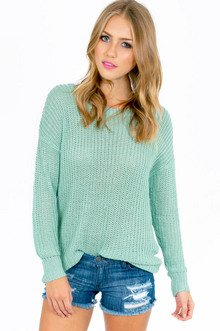 BASIC ALLY ROUND NECK SWEATER 32