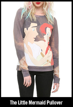 THE LITTLE MERMAID PULLOVER