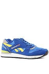 LGL 6000 Sneaker in Reebok Royal, Radar Yellow, Tin Grey, White