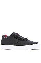 Strike Sneaker in Black Canvas