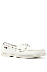 Docksiders Boat Shoes in White