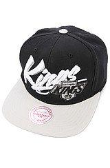 Los Angeles Kings Snapback Cap in Black Grey