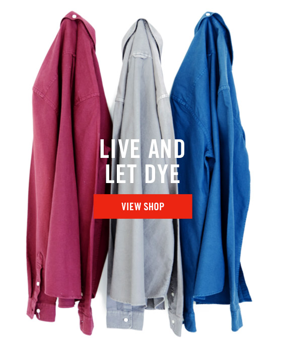 Live And Let Dye - View Shop