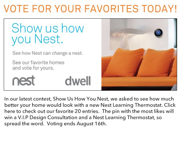 Vote for your favorites today!