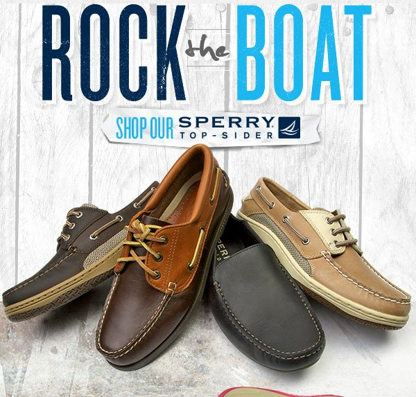 Rock the Boat with Sperry Top-Sider.