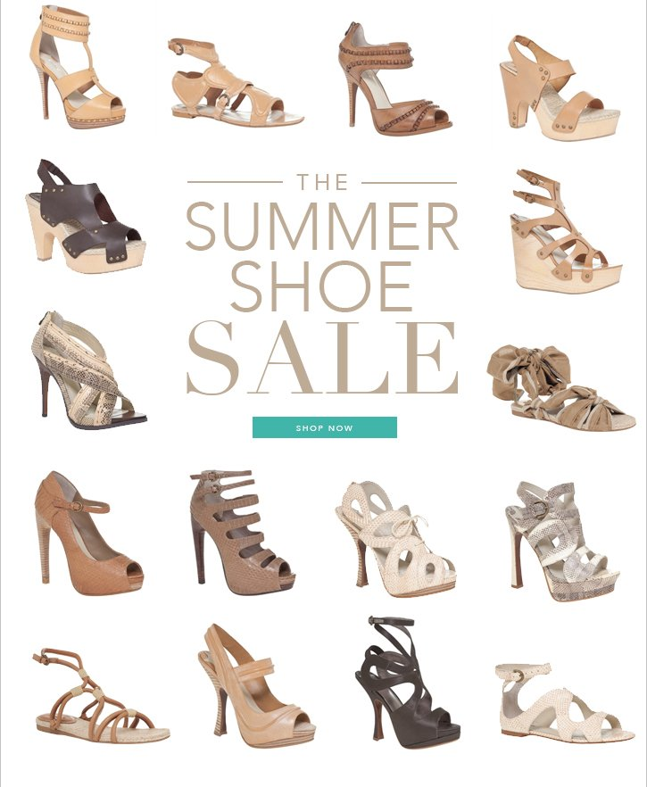 The Summer Shoe Sale