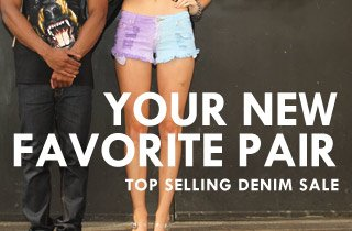 Top Selling Denim