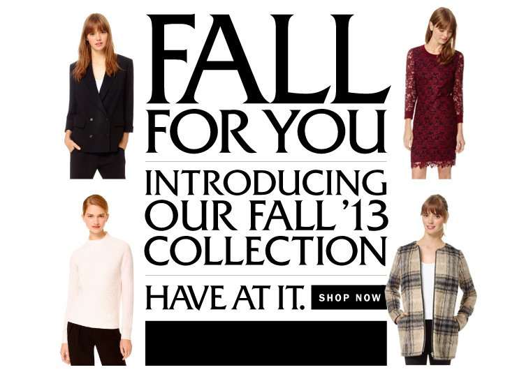 Fall '13 Collection