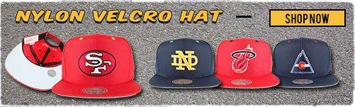 Nylon Velcro Hats - Shop Now