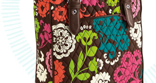 Buckle Tote in Lola