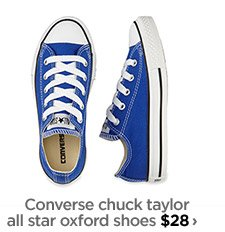 Converse chuck taylor all star oxford  shoes $28 ›