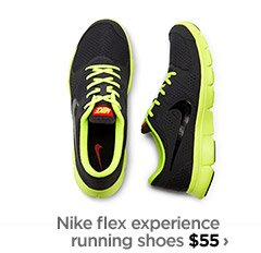 Nike flex experience running shoes $55  ›