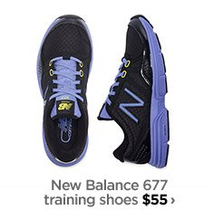 New balance 677 training shoes $55  ›