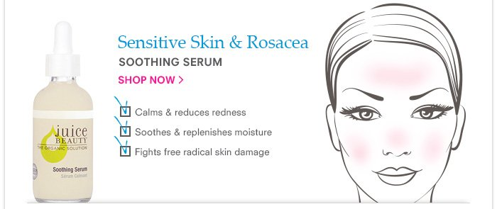 Sensitive Skin & Rosacea - Soothing Serum
