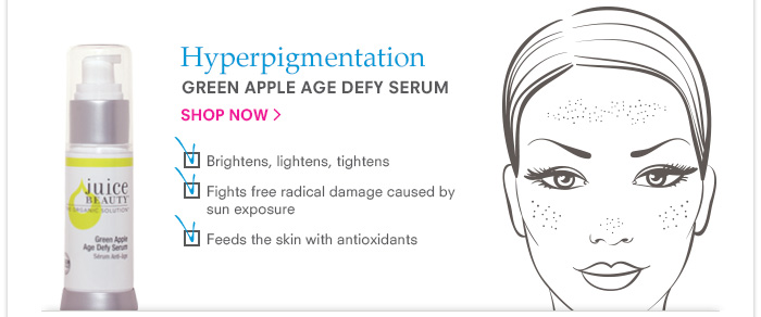 Hyperpigmentation - Green Apple Age Defy Serum