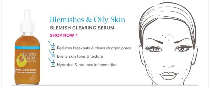 Blemishes & Oily Skin - Blemish Clearing Serum