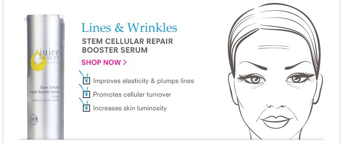 Lines & Wrinkles - Stem Cellular Repair Booster Serum