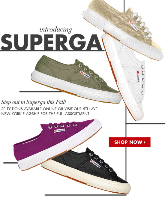 INTRODUCING SUPERGA