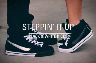 Black & White Kicks