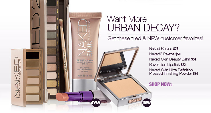 Tried and NEW Urban Decay Favorites!