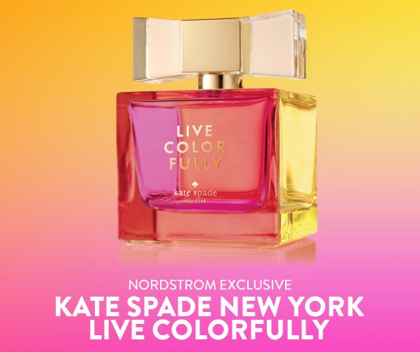 NORDSTROM EXCLUSIVE - KATE SPADE NEW YORK LIVE COLORFULLY