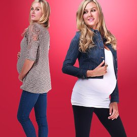Sweaters & Denim: Maternity Apparel