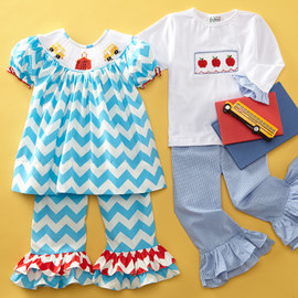 Smocked Style: Kids' Apparel