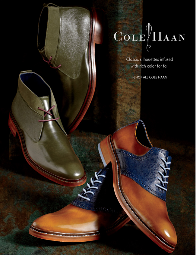 COLE HAAN | CLASSIC SILHOUETTES INFUSED WITH RICH COLOR FOR FALL | SHOP ALL COLE HAAN