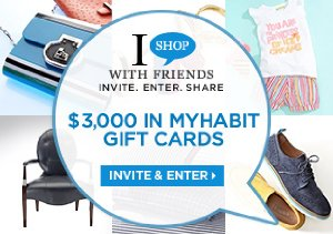 $3,000 IN MYHABIT GIFT CARDS