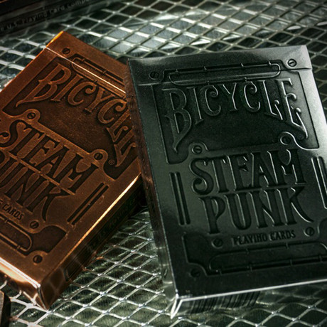 Steampunk Bronze + Silver