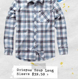 Octopus Soup Long Sleeve $39.50