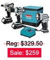 Cordless Combination Kit Sale: $259