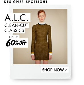 A.L.C. UP TO 60% OFF