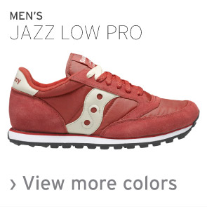 Mens Jazz Low Pro
