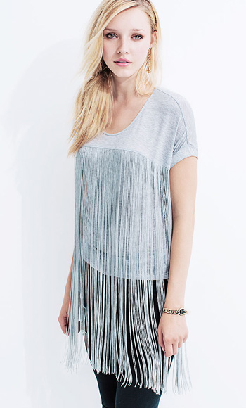 Model Wearing Berkeley Top
