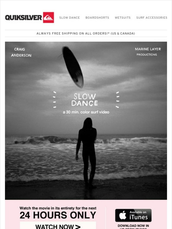 Quiksilver: Watch Slow Dance Streaming Online Now! DVD