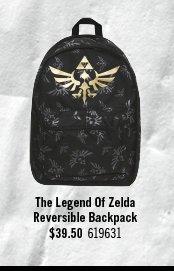 THE LEGEND OF ZELDA REVERSIBLE BACKPACK