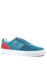 The Choice Sneaker in Teal & Brick