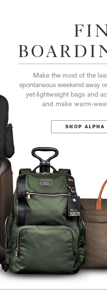 Final Boarding Call - Shop Alpha Collection