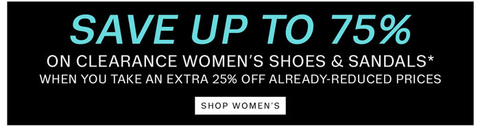 Save up to 75%. Shop Women's.