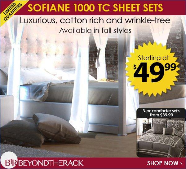 Sofiane 1000 TC Sheets Sets