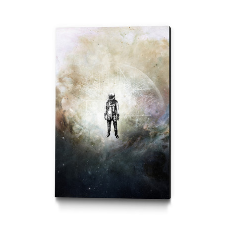 Voyager II Museum Mounted Canvas