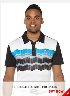 TECH GRAPHIC GOLF POLO SHIRT BUY NOW »