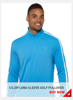 1/4 ZIP LONG SLEEVE GOLF PULLOVER BUY NOW »