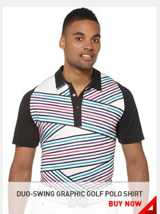 DUO-SWING GRAPHIC GOLF POLO SHIRT BUY NOW »