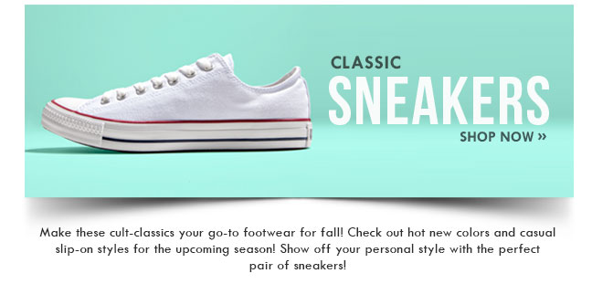 Shop Classic Sneakers